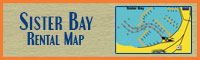 Sister Bay Boat & Jet Ski Rental Map