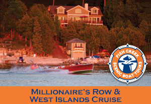 Millionaires Row Door County Boat Tour