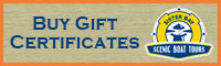 Sister Bay Boat Tour Gift Certificates