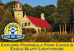 Explore Peninsula Park Caves and Eagle Bluff Lighthouse